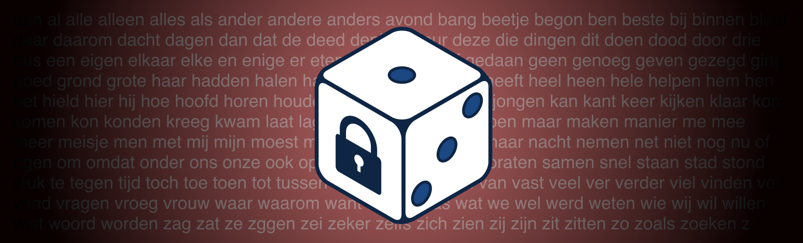 image from A Dutch Diceware List